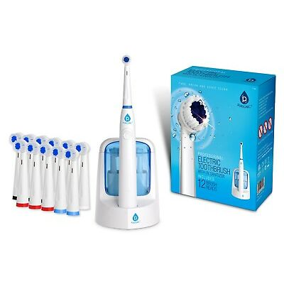 Pursonic Power Rechargeable Electric Oscillating Toothbrush W/UV Sanitizer
