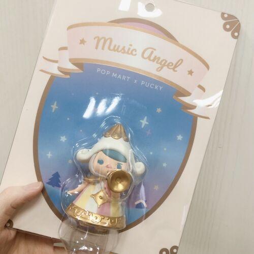 POP MART x PUCKY Music Angel Mini Figure Designer Art Toy Lift Sub Limited New