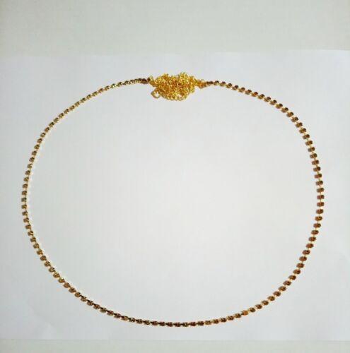 Gold Silver Tone Waist Belt Indian Bollywood Kamar Bandh Belly Dance Hip Chain