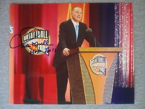 GOLDEN STATE WARRIORS- CHRIS MULLIN AUTOGRAPH 2011 HALL OF FAME 8x10 PHOTO
