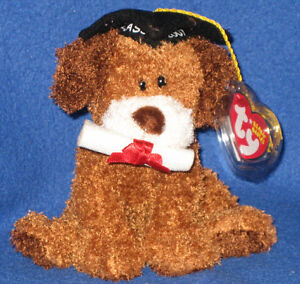 TY HONOR ROLL the DOG BEANIE BABY - CLASS oF 2007 MINT with MINT TAG