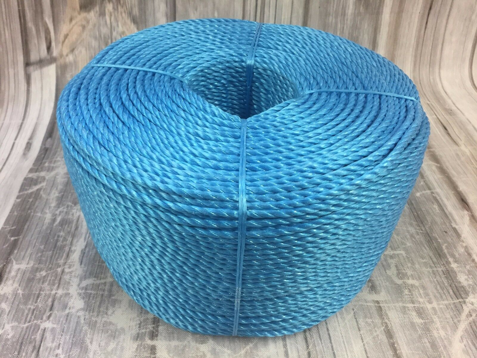 6mm bluee Poly Rope x 500 Metre Coil, bluee Poly Rope Coils, Polypropylene Rope
