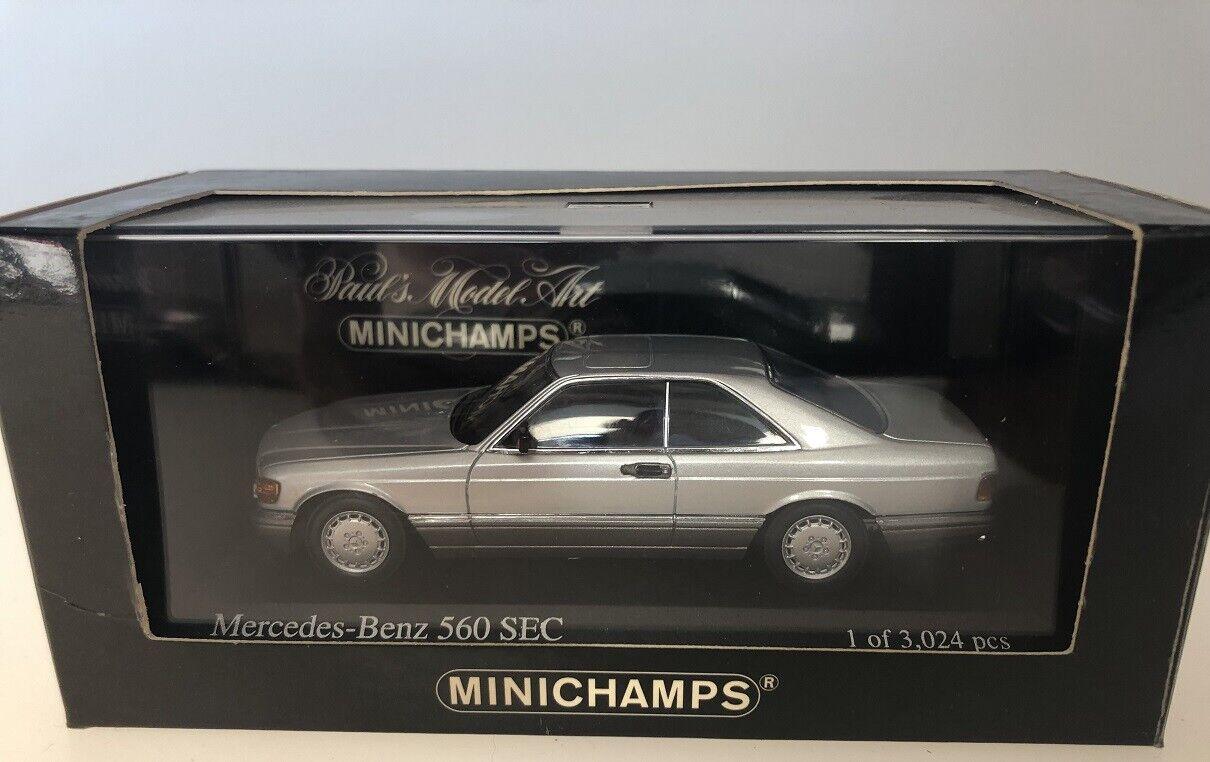1 43 Minichamps Mercedes 500 SEC