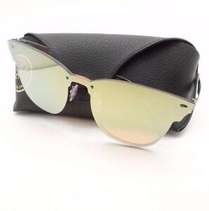 Ray Ban 3576 N 9037 7J Brushed Blue Orange 47mm Mirror Sunglasses ... 34fe2e40b0