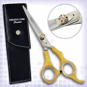 Brand-New-Professional-Hairdressing-Scissors-Barber-Shears-Hair-Beauty-GOLD-6-034