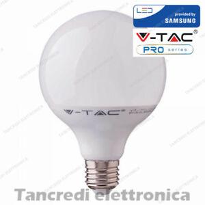 Lampadina-led-V-TAC-18W-115W-E27-bianco-caldo-3000K-VT-1899-globo-G120-lampada