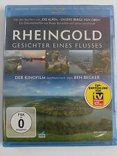Rheingold - Gesichter eines Flusses, Rhein aus Vogelperspektive, Ben Becker Kino
