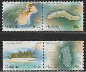 (303)MALAYSIA 2003 ISLAND & BEACHES OF MALAYSIA (II) SET FRESH MNH