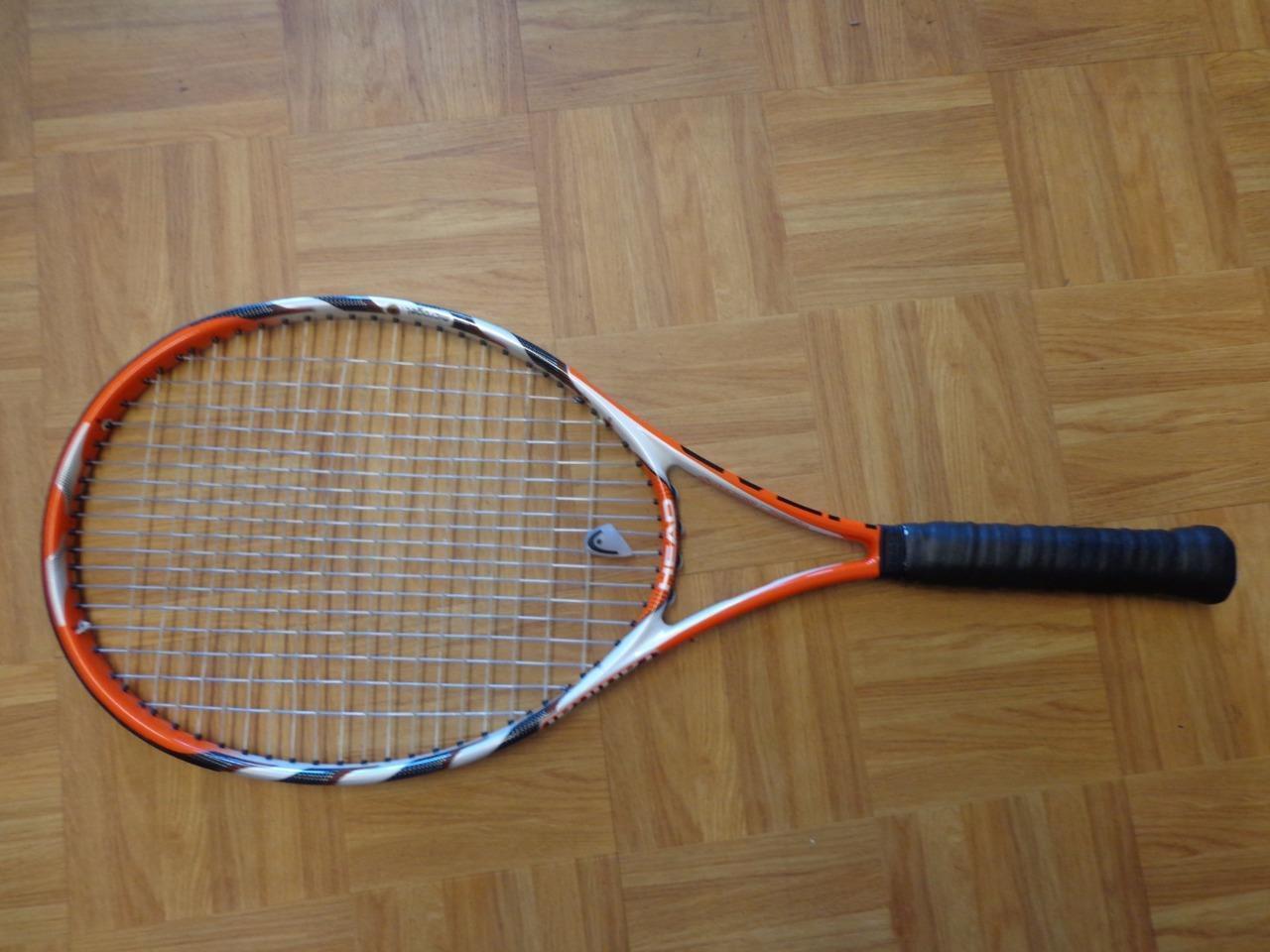 Head Microgel Radical OverTaille 107 Head 4 1 2 grip raquette de tennis