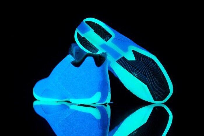 BRAND NEW  Adidas TMAC 3 Aurora Borealis, AQ7992, bluee Glow, Size 11, RARE