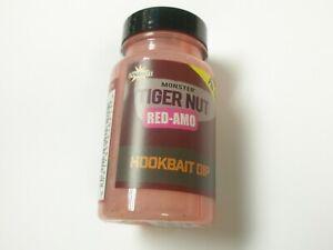 Dynamite-Cebos-Monster-Tigernut-Rojo-Amo-Concentrarse-Anzuelo-Dip-100ml-Carpa