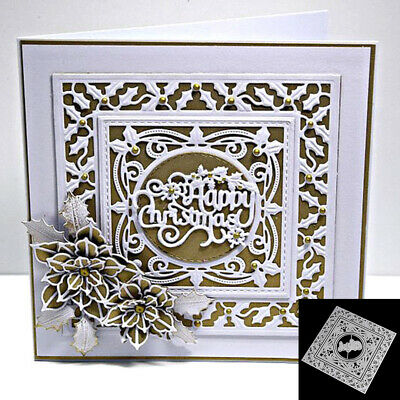 Metal Cutting Dies Stencil for DIY Scrapbooking Photo Album Christmas Card Craft