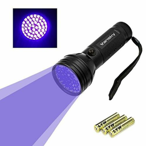 Vansky UV Flashlight Black Light for Pet Urine Detection,51 LED Ultrav UV Torch