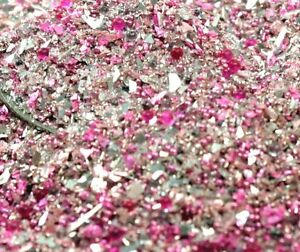 Vintage Rose Sparkle Glass Glitter - 311-BD-15 - Glitter Medleys