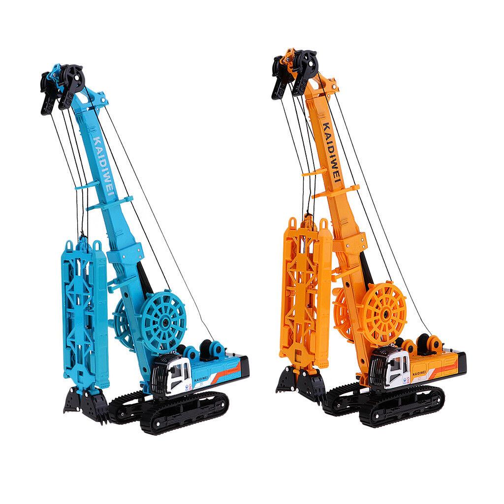 1 64 skala Alloy rödary Head Drilling Rig modelllllerler tärningskast leksak modelllllerler samling
