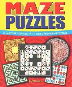 Maze Puzzles,Excellent, Books, mon0000103597