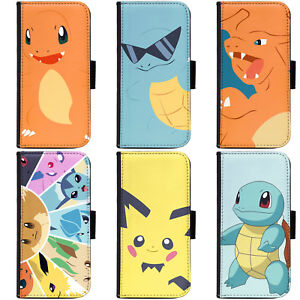 PIN-1-Game-Pokemon-5-Phone-Wallet-Flip-Case-Cover-for-Huawei