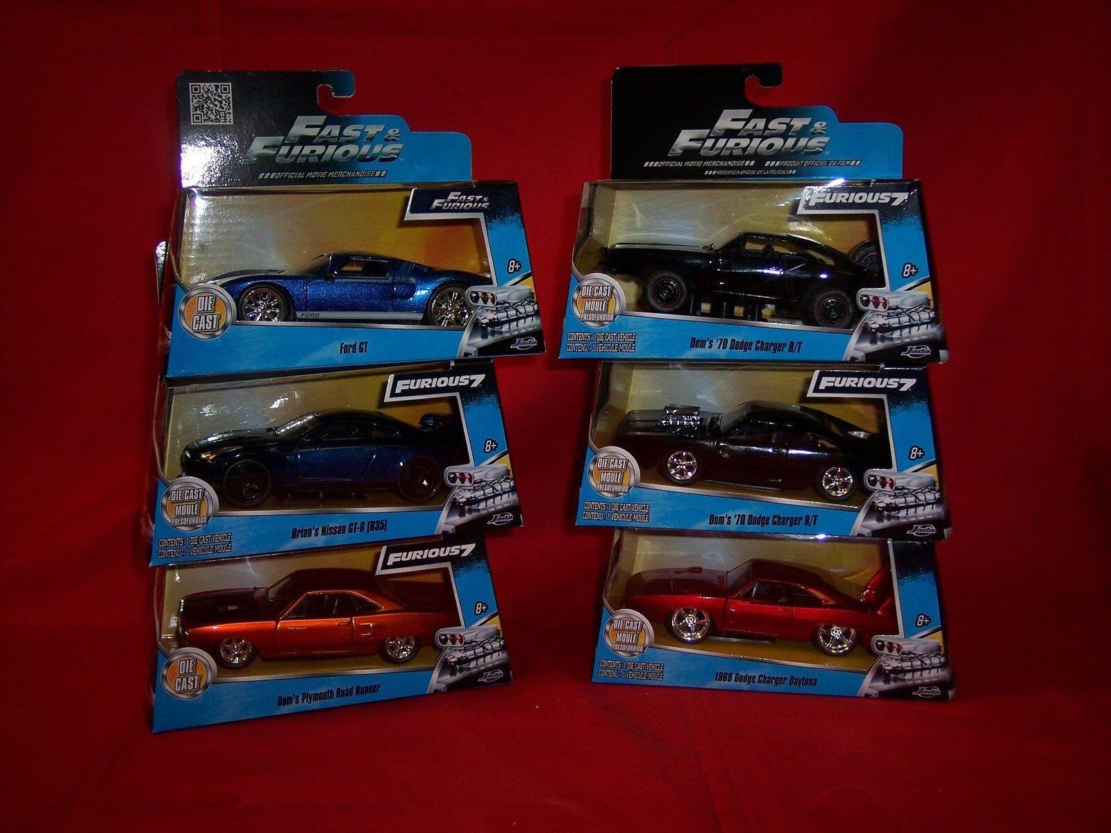 Frenesí rápido 7  1  32  6 vehículos Land Cruiser, Ford GT, Cochegador japonés gt3.