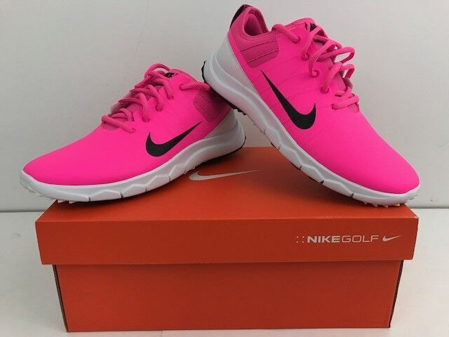 NEW Nike Golf FI IMPACT 2 Shoes Pink Womens Comfortable Comfortable and good-looking