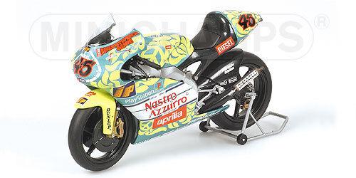 1 12 Minichamps Aprilia 125 GP Valentino Rossi 1999 Mugello 122990046 RARE NEW