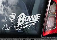 David Bowie - Car Window Sticker - Glam Rock Music Sign Ziggy Stardust - TYP2