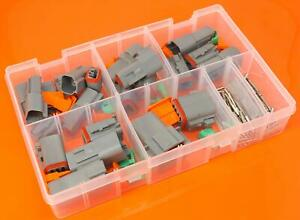 Genuine-Deutsch-DT-Series-Assorted-Electrical-Connector-Box-Set-144-Pieces