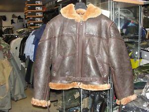 Leather-Jacket-Pilote-Raf-Royal-Air-Force-Bomber-Jacket-Bomber-Ww2-Aviator
