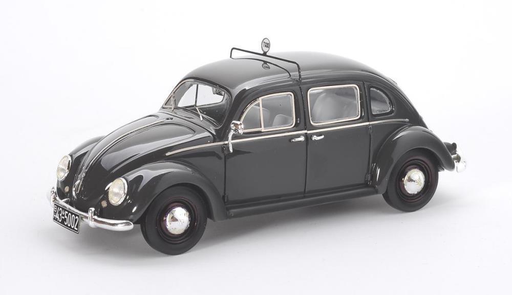VW Rometsch Taxi 4-door  Dark grigio  1951 (Matrix 1 43   MX32105-012)