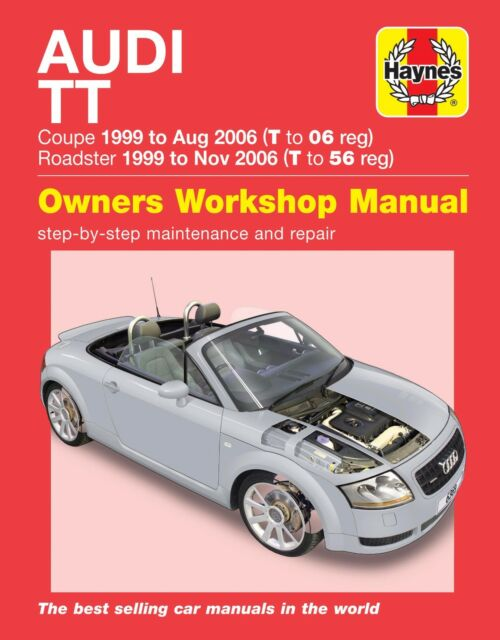 audi tt coupe and roadster 1999 to 2006 haynes manual 6369 ebay rh ebay co uk ford fiesta 2006 haynes manual pdf 2006 f150 haynes manual