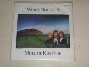 WINGS-DOUBLE-A-Mull-of-Kintyre-7-034-SINGLE-LP-Capitol-1C-006-60-154