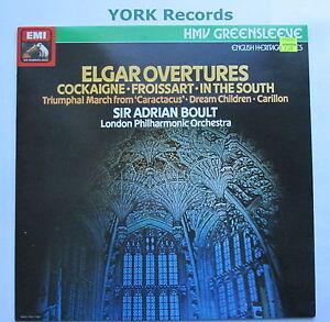 ESD-7167-ELGAR-Overtures-BOULT-London-Philharmonic-Orchestra-Ex-LP-Record