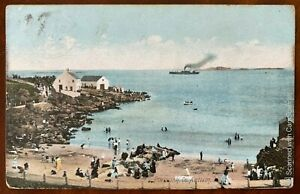 Ladies-Bathing-Place-Portrush-Postcard-Co-Antrim-Northern-Ireland-Posted-1906
