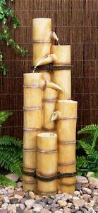 Fontaine Bambou Décoration Jardin Cascade Électrique Traditionnelle ...