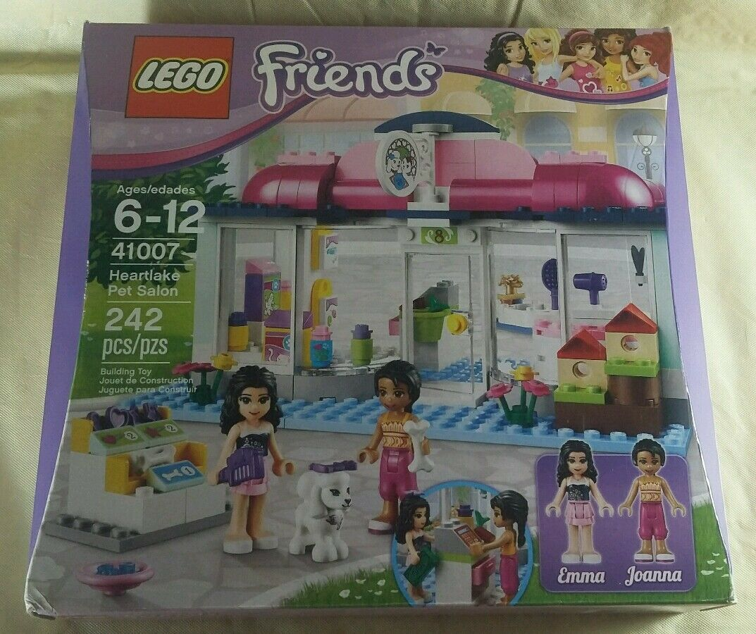 Lego Friends Heartlake Pet Salon  Emma & Joanna  242 Pieces Sealed NIB