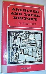 Archives-and-Local-History-by-Emmison-F-G