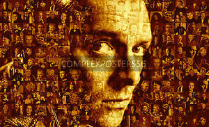 LARGE ORIGINAL MOSAIC PHOTO POSTER IN VARIOUS COLOURS OF RIK MAYALL RIP No 9 - Somerset, United Kingdom - LARGE ORIGINAL MOSAIC PHOTO POSTER IN VARIOUS COLOURS OF RIK MAYALL RIP No 9 - Somerset, United Kingdom
