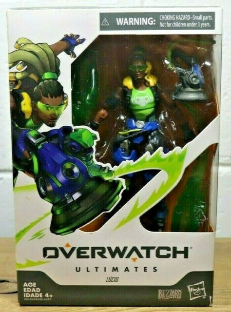 Overwatch Ultimates LUCIO 6-Inch-Scale HASBRO Collectible Action Figure NEW! T3
