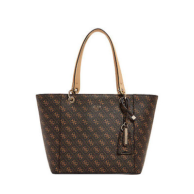 NEW Guess SG669123 Kamryn Tote Bag Brown