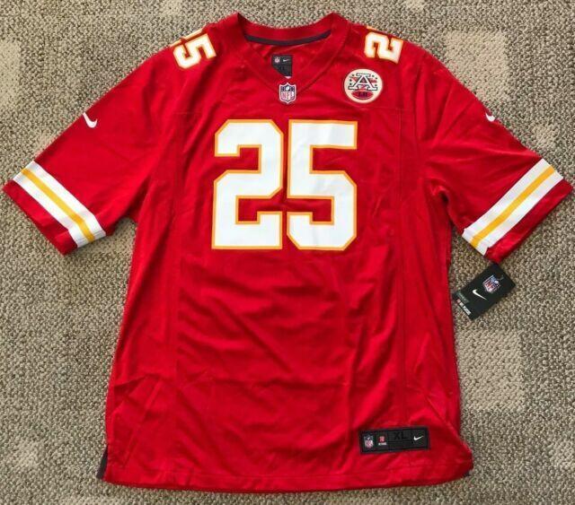 Kansas City Chiefs Jamaal Charles 25 NFL Nike Home Jersey XL Ship Texas