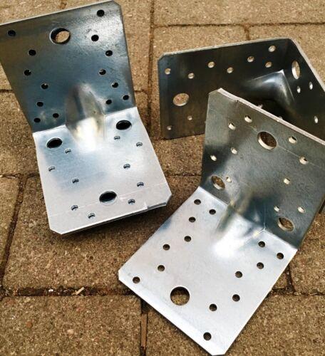 Stahlwinkel Winkelverbinder 105 x 105 x 90 mm mit Sicke Steg Rippe Winkel,W1