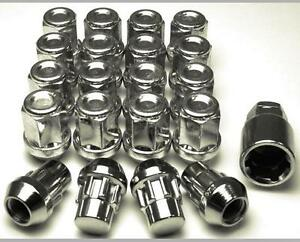 Set of 4x Wheel Nuts Bolts Lugs Chrysler Grand Voyager M12x1.5 34mm 19 Hex.