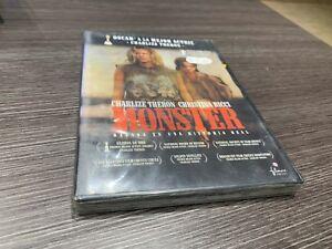 Monster DVD Charlize Theron Christina Ricci Sigillata Nuovo