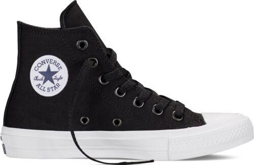 Star Hi Itas Converse All Taylor Zapatillas Negro Junior altas Chuck Blanco RqwtxqP0v