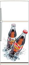 Aufkleber kühlschrank haushaltsgeräte dekor küche Coca Cola 60x90cm Ref 1852