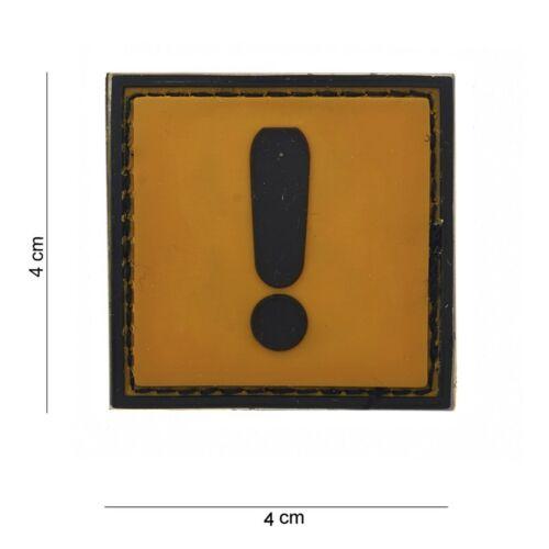 PVC Caution PATCH VELCRO Insigne airsoft paintball Pistole