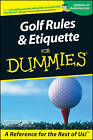 Golf Rules and Etiquette for Dummies by John Steinbreder (Paperback, 2001)