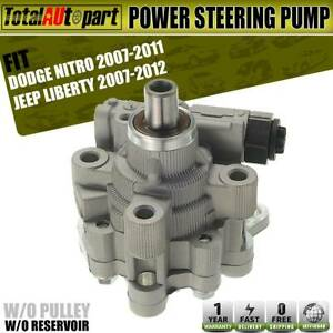 Power-Steering-Pump-w-o-Reservoir-for-Dodge-Nitro-Jeep-Liberty-07-12-52129328AB