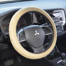 Memory Foam Car Steering Wheel Cover Beige Comfortable Non Slip Grip For Toyota