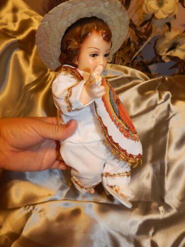 clothes for baby Jesus// nino dios Juan Diego set  manta blanca medida 20 o 25