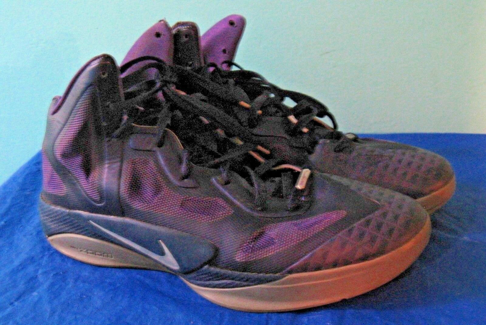 650a8783d5b5 Nike Air Zoom Hyperfuse 469757-500 Purple Gray Basketball Basketball  Basketball Shoes (Size 12) e80f2f